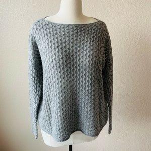 Vince Sweater Sz XS Merino Wool Solid Gray